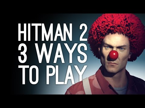 Hitman 2: Whittleton Creek 3 Ways to Play! (House For Sale, BBQ Explosion, Exterminator) Ep. 1/2