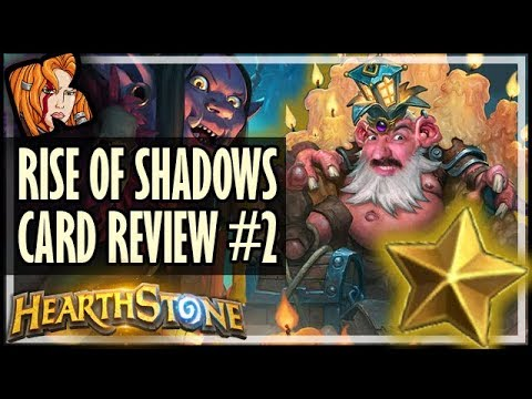 RISE OF SHADOWS CARD REVIEW #2 - Kripp ⭐ Ratings - Hearthstone