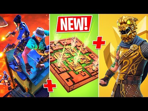 *NEW* Floor is Lava Game Mode, Poison Dart Trap & Arena Ranked Mode!! (Fortnite Battle Royale)