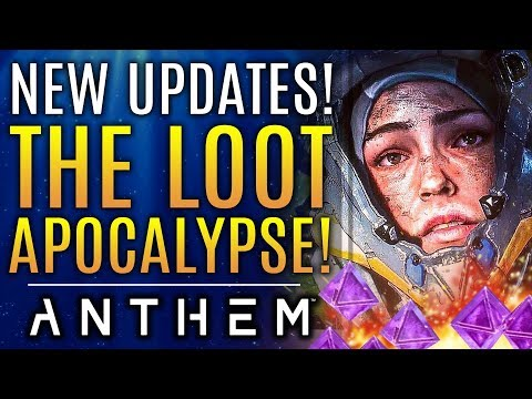 Anthem Enters A New Loot Apocalypse After New Update!  Vanity Chests Disappoint!  Bioware Responds!