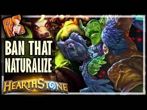 THIS Is Why Naturalize Was BANNED - Rastakhan's Rumble Hearthstone