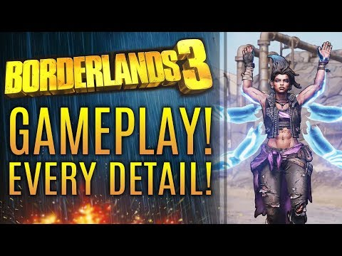 Borderlands 3 REVEAL GAMEPLAY TRAILER!  Walkthrough of Characters, Gameplay Info and Worlds!