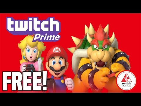 Get One Year of Nintendo Switch Online Free With Twitch Prime!