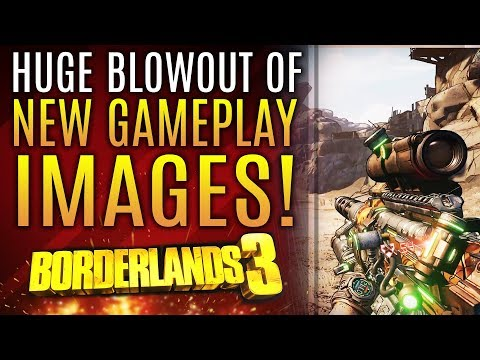 Borderlands 3 - ALL NEW GAMEPLAY IMAGES! 50+ Images of New Weapons, Worlds and More!
