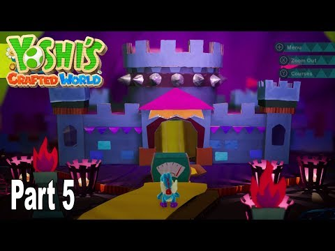 Yoshi's Crafted World - Story Walkthrough Part 5 No Commentary [HD 1080P]