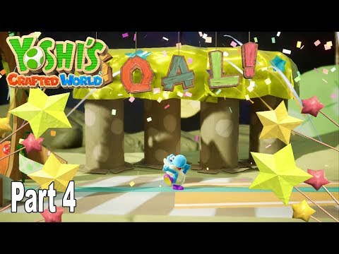 Yoshi's Crafted World - Story Walkthrough Part 4 No Commentary [HD 1080P]