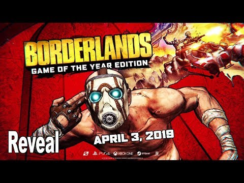 Borderlands: Game of the Year - Reveal Trailer [4K 2160P/60FPS]