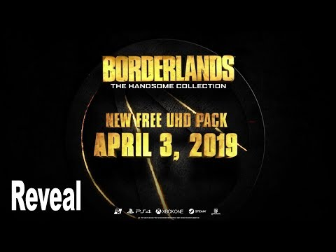 Borderlands: The Handsome Collection Ultra HD - Reveal Trailer [4K 2160P/60FPS]