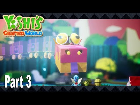 Yoshi's Crafted World - Story Walkthrough Part 3 No Commentary [HD 1080P]