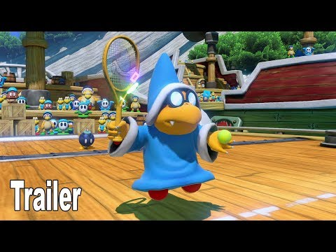 Mario Tennis Aces - Kamek Trailer [HD 1080P]