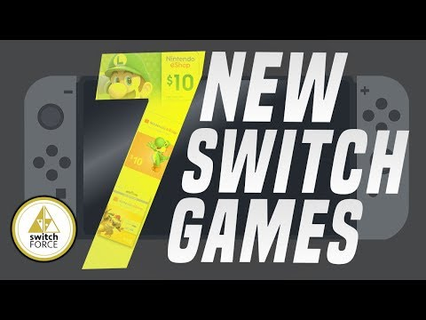 7 NEW Switch Games Just Announced! (New Nintendo eShop or Switch Games 2019)