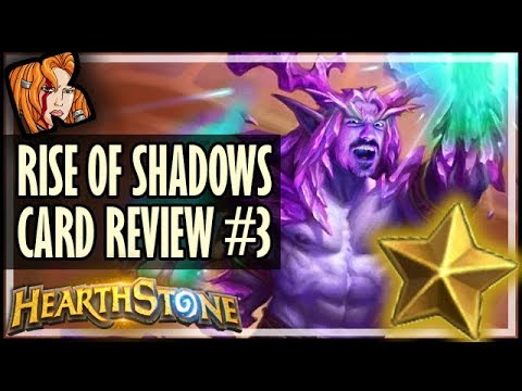 RISE OF SHADOWS CARD REVIEW #3 - Kripp ⭐ Ratings - Hearthstone