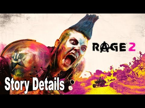 Rage 2 - PAX East 2019 Story Details [HD 1080P]