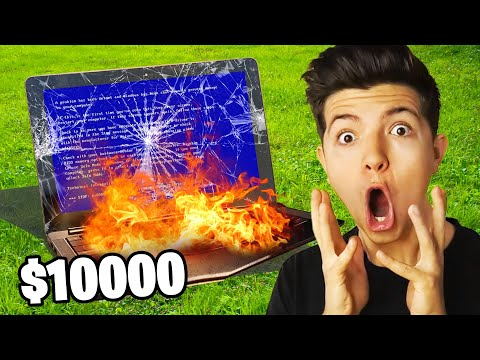 I DESTROY $10,000 of PRESTONPLAYZ EXPENSIVE Items!