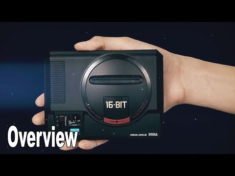 Sega Mega Drive Mini - Overview Trailer (Japanese) [HD 1080P]