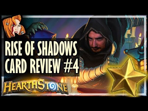 RISE OF SHADOWS CARD REVIEW #4 - Kripp ⭐ Ratings - Hearthstone