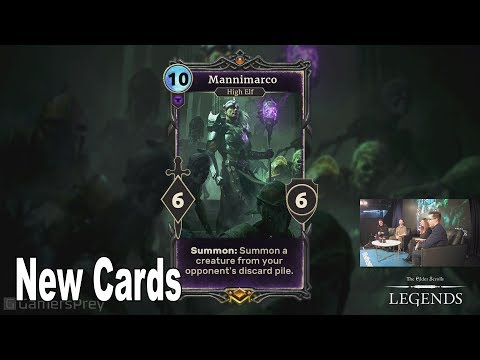 The Elder Scrolls: Legends - Alliance War: New Cards Reveal [HD 1080P]