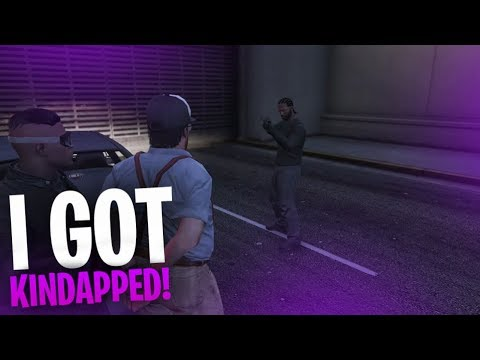 I GOT KIDNAPPED!! HELD FOR RANSOM?! | GTA V RP Ep.6 - TimTheTatMan
