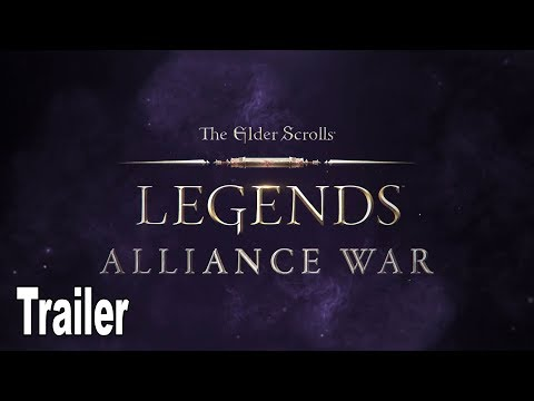 The Elder Scrolls: Legends - Alliance War Trailer [HD 1080P]