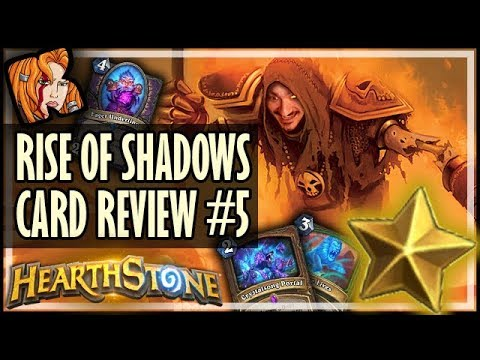 RISE OF SHADOWS CARD REVIEW #5 - Kripp ⭐ Ratings - Hearthstone