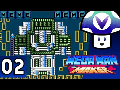 [Vinesauce] Vinny - Mega Man Maker 1.5 Update (part 2)