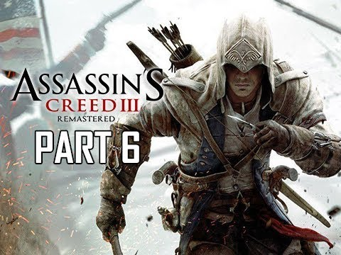 ASSASSIN'S CREED 3 REMASTERED Walkthrough Part 6 - Juno & Minerva (AC3 100% Sync Let's Play )