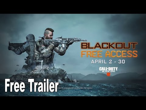 Call of Duty: Black Ops 4 - Free Access Reveal Trailer [HD 1080P]
