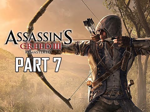 ASSASSIN'S CREED 3 REMASTERED Walkthrough Part 7 - Rope Dart (AC3 100% Sync Let's Play )
