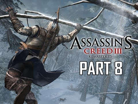 ASSASSIN'S CREED 3 REMASTERED Walkthrough Part 8 - Frontier (AC3 100% Sync Let's Play )