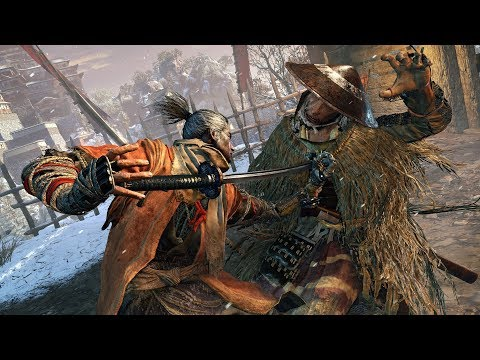 Sekiro Shadow Die Twice Stealth Assassin Gameplay - Ashina Outskirts (葦名城 城下)