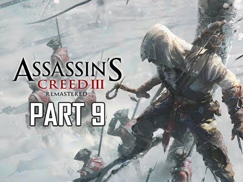 ASSASSIN'S CREED 3 REMASTERED Walkthrough Part 9 - Paul Revere (AC3 100% Sync Let's Play )