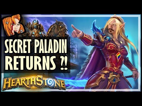 SECRET PALADIN RETURNS?! - Old School Hearthstone