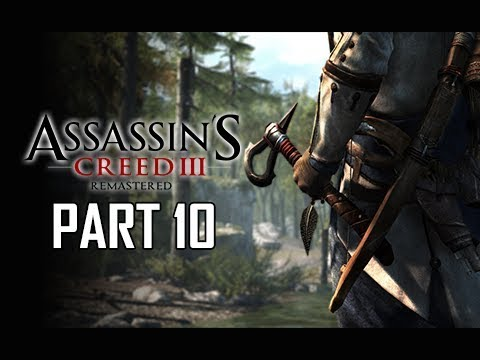 ASSASSIN'S CREED 3 REMASTERED Walkthrough Part 10 - Boston Tea Party (AC3 100% Sync Let's Play )