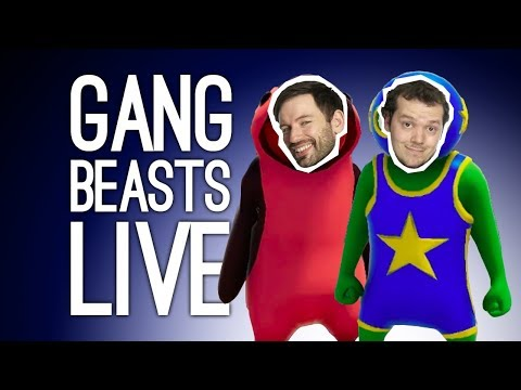 LIVE Gang Beasts! Outside Xbox Plays Gang Beasts Live on Xbox One @ EGX Rezzed 2019!