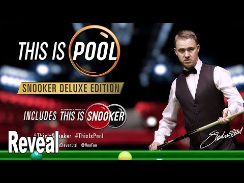This Is Pool: Snooker Deluxe Edition - Reveal Trailer [4K 2160P/60FPS]