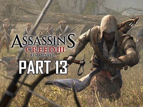 ASSASSIN'S CREED 3 REMASTERED Walkthrough Part 13 - JOHN PITCAIRN (AC3 100% Sync Let's Play )