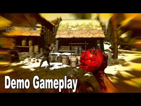 Darkborn - Demo Gameplay Walkthrough No Commentary [HD 1080P]