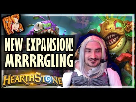 MRRRRGLING IN THE NEW EXPANSION & JAINA COSPLAY! - Rise Of Shadows Hearthstone