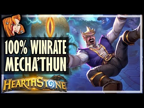 100% Winrate Mecha'thun Lock RETURNS In RoS - Rise Of Shadows Hearthstone