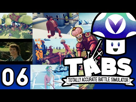 [Vinesauce] Vinny - TABS: Totally Accurate Battle Simulator: 0.1.2 Update (part 6)