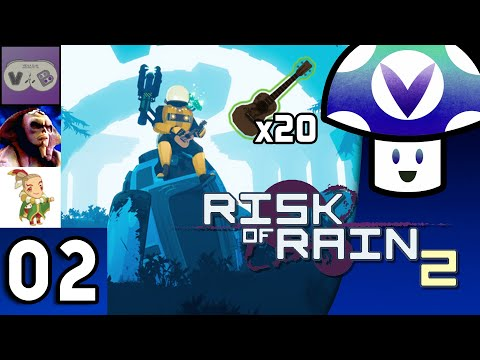 [Vinesauce] Vinny - Risk of Rain 2 with Vidyabum, GreatSphynx & DaveKap (part 2)