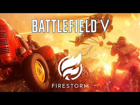 *NEW* BATTLE ROYALE GAME!! (Battlefield V Battle Royale: Firestorm)