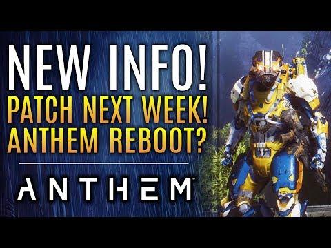 Anthem - Brand New Updates! New Patch! Anthem Reboot?