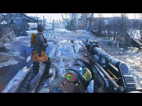 The Most Gorgeous Game in 2019 - Metro Exodus on Nvidia Geforce RTX 2080ti With Ray Tracing in 4K