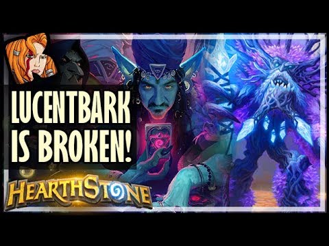 LUCENTBARK IS BROKEN! - Rise of Shadows Hearthstone