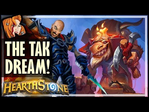 THE RISE OF SHADOWS TAK DREAM! - Hearthstone