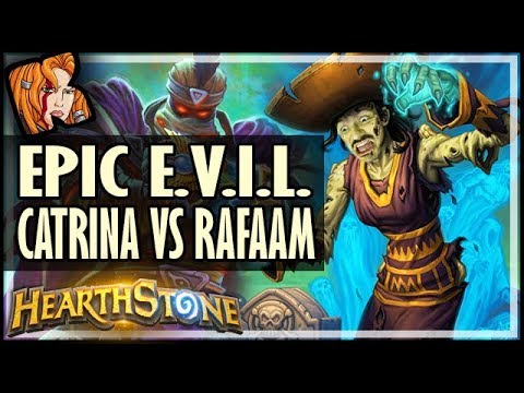 EPIC E.V.I.L. BATTLE: CATRINA vs. RAFAAM - Rise of Shadows Hearthstone