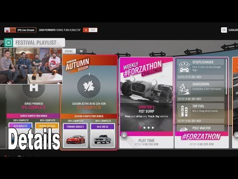 Forza Horizon 4 - Update 8 Festival Playlist Details [HD 1080P]