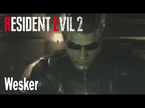 Resident Evil 2 Remake - Wesker Mod Gameplay [HD 1080P]