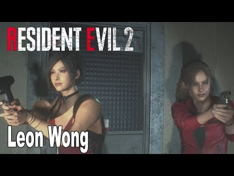 Resident Evil 2 Remake - Leon Wong Mod Gameplay [HD 1080P]
